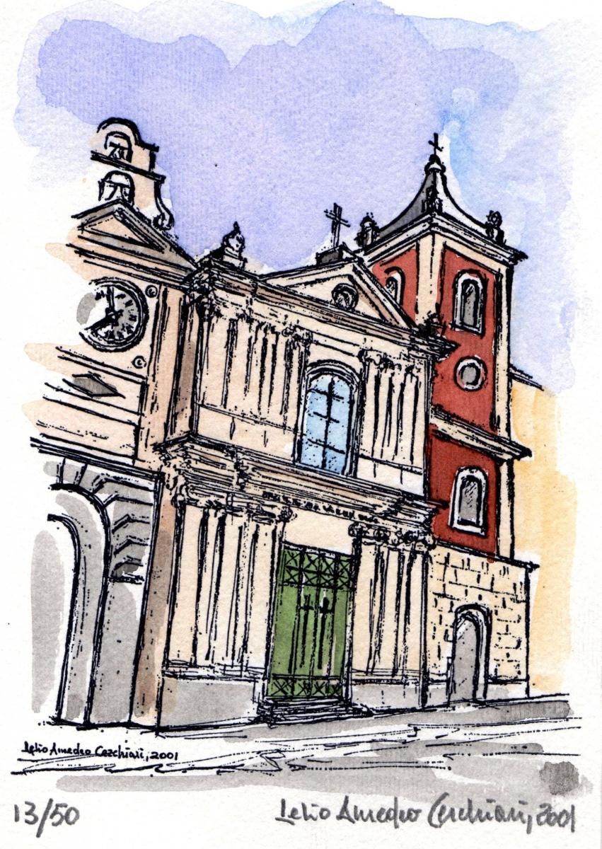 """Castellammare di Stabia - """"Scanzano Chiesa SS. Salvatore"""" - 2001"""